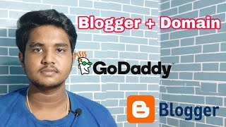How to connect domain name to blogger / godaddy domain name / blogger