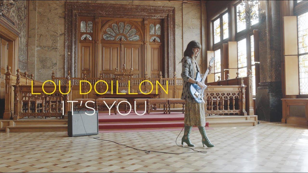 "Lou Doillon - 「Bruxelles Ma Belle」が""It's You""のライブセッション映像を公開 thm Music info Clip"