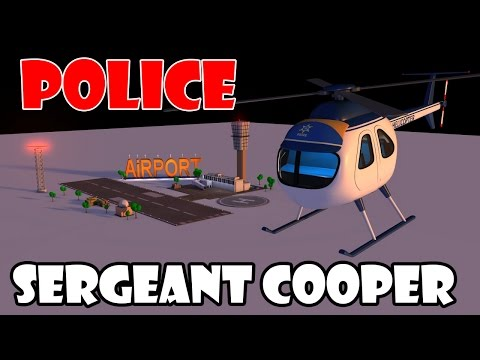 helicopter cartoon - helicopter cartoons for children - police helicopter for kids