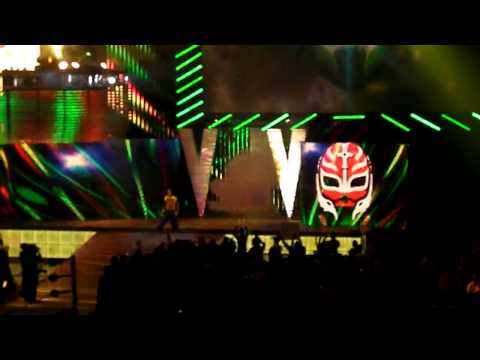 Wwe Survivor Series 2010 Rey Mysterio Entrance At Miami video