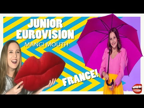 Junior Eurovision Reaction To France 2019 | Manci Mouth