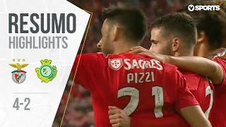 Benfica 4-2 Vitória FC Highlights (Portuguese League 18/19 #29)