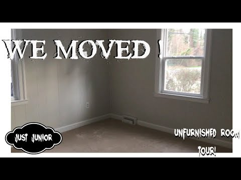 WE MOVED | UNFURNISHED ROOM TOUR