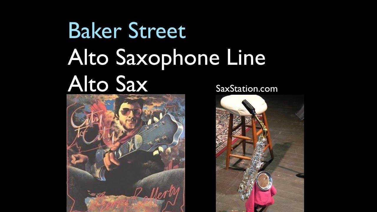Baker Street Alto Sax Sheet How to Play Baker Street Alto