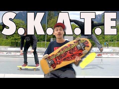Original 1985 Skateboard Game Of Skate!