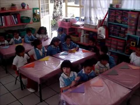 Creación de figuras geométricas en preescolar