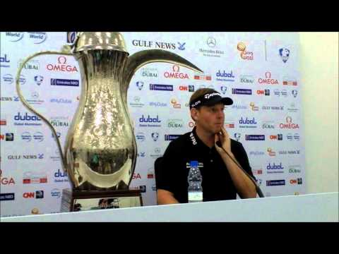 Stephen Gallacher full press conference after winning the 25th Omega Dubai Desert Classic 2014