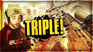 TRIPLE!!! (BO2 Clips & Funny Moments) - FaZe Agony