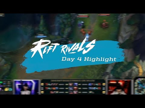 《LOL》2018 RR 亞洲對抗賽 DAY4 Highlight