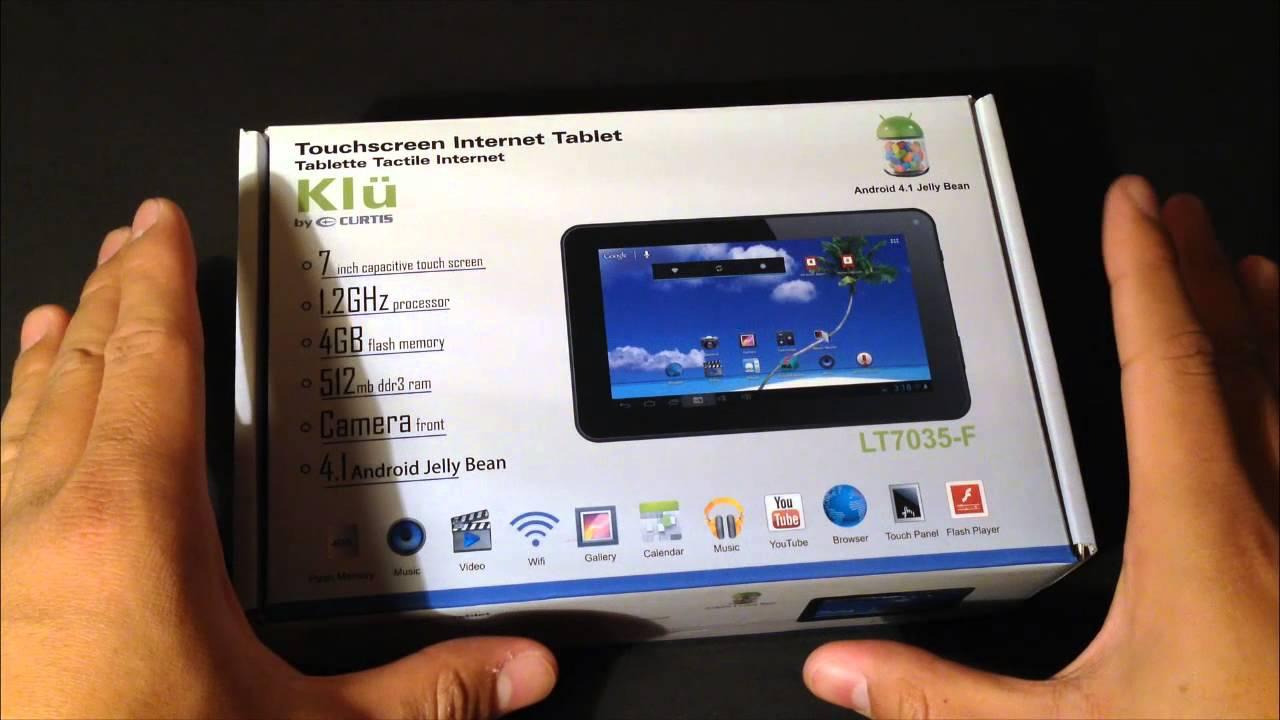 Klu by Curtis 7 Inch Tablet