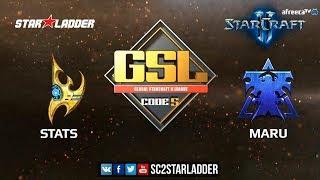 2018 GSL Season 1, Финал: Stats (P) vs Maru (T)