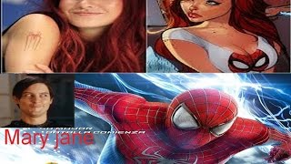 amazing spiderman 2 guion original  y Mary jane