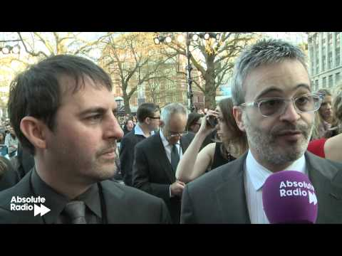 Alex Kurtzman and Roberto Orci at Star Trek Into Darkness premiere
