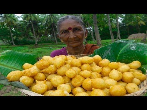 అమ్మమ్మ మైసుర్ బజ్జిలను ఎంత రుచిగ ఎలా చేస్తారో చూడండి | Mysore Bonda