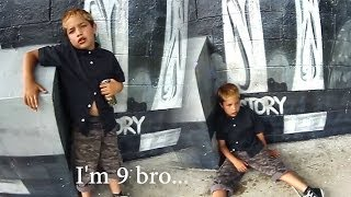 Shocking Video Of 9-Year-Old Boy Drunk Off 18 Cans