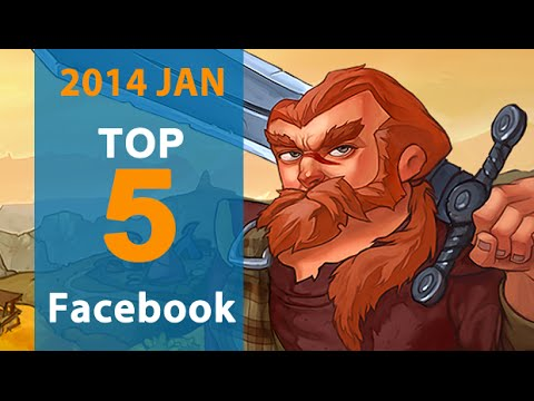 5 Best Facebook Games for January 2014