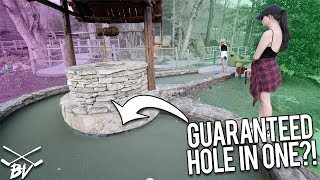 THESE MINI GOLF MYSTERY PATHS GUARANTEE A HOLE IN ONE?! | Brooks Holt