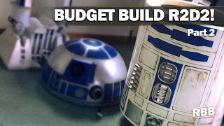 Build your own R2D2 - How Star Wars changed the world - My R2D2 Budget Build