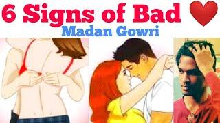 6 Signs of Bad Crush   Tamil   Madan Gowri   MG