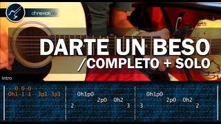Como tocar Darte un Beso de PRINCE ROYCE en guitarra acustica COMPLETO+SOLO (HD) Tutorial