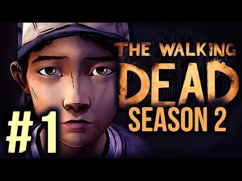 The Walking Dead: Season 2 Gameplay — Part 1 — Playthrough — CLEMENTINE IS BACK!