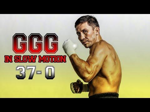 Gennady Golovkin ( GGG ) - In Slow Motion | Highlights