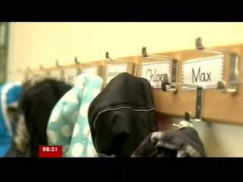 BBC School yoga session Glasgow