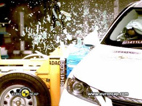Euro NCAP   Lexus CT200h   2011   Краш-тест