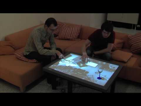 CRISTAL - Control of Remotely Interfaced Systems using Touch-based Actions in Living spaces