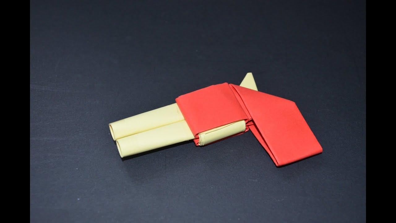 Как сделать из бумаги ножик без клея и скотча