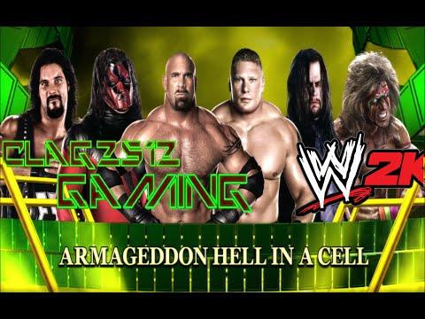 WWE 2K14 Goldberg Vs Brock Lesner Vs Undertaker Vs Kane Vs Diesel Vs Ultimate Warrior