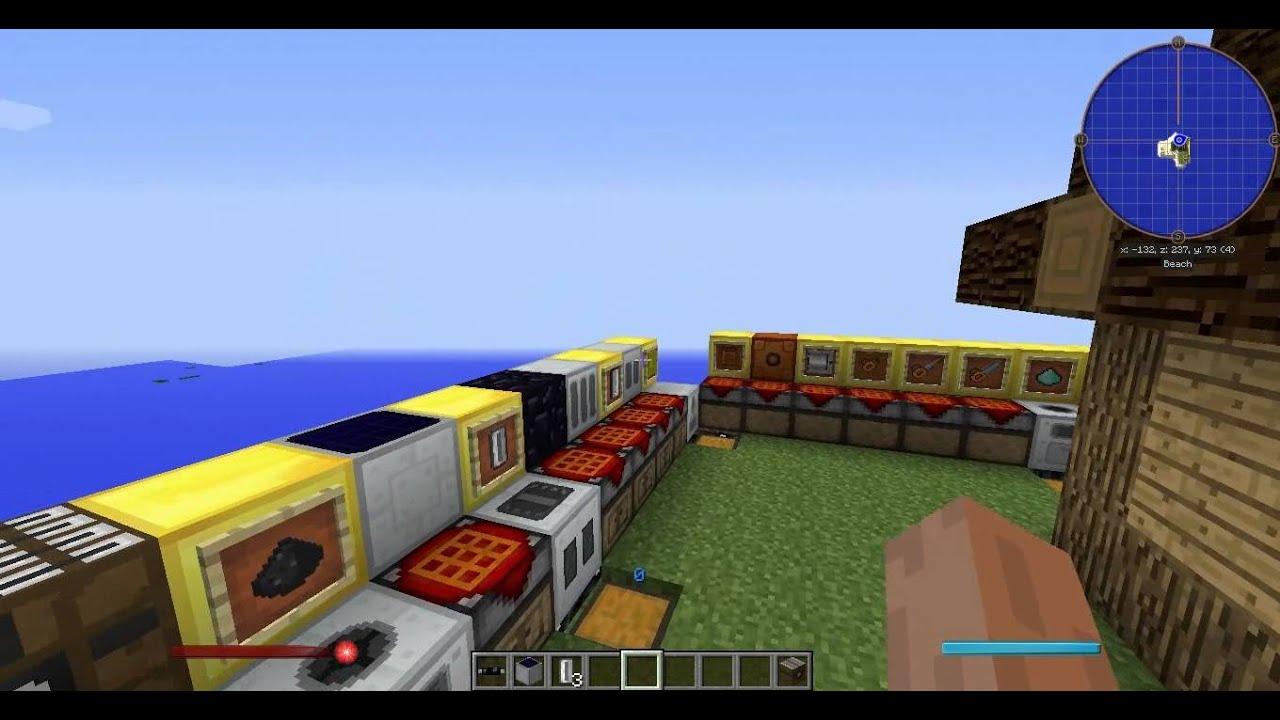 Майнкрафт индастриал крафт 2 как сделать генератор