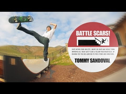 Tommy Sandoval's Battle Scars