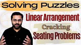 Logical Reasoning 10 Linear Seating Arrangement Learn to crack linear arrangement problems