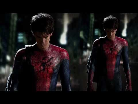 Andrew Garfield In Spider-Man Suit First Look