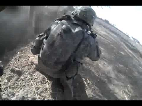 Afghanistan War - U.S. Army - Intense Close Taliban Ambush - Helmet Cam