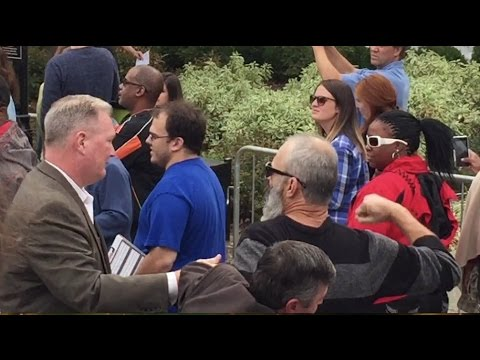 "People Walk Out on Clinton After ""Bill is a Rapist"" Protest"