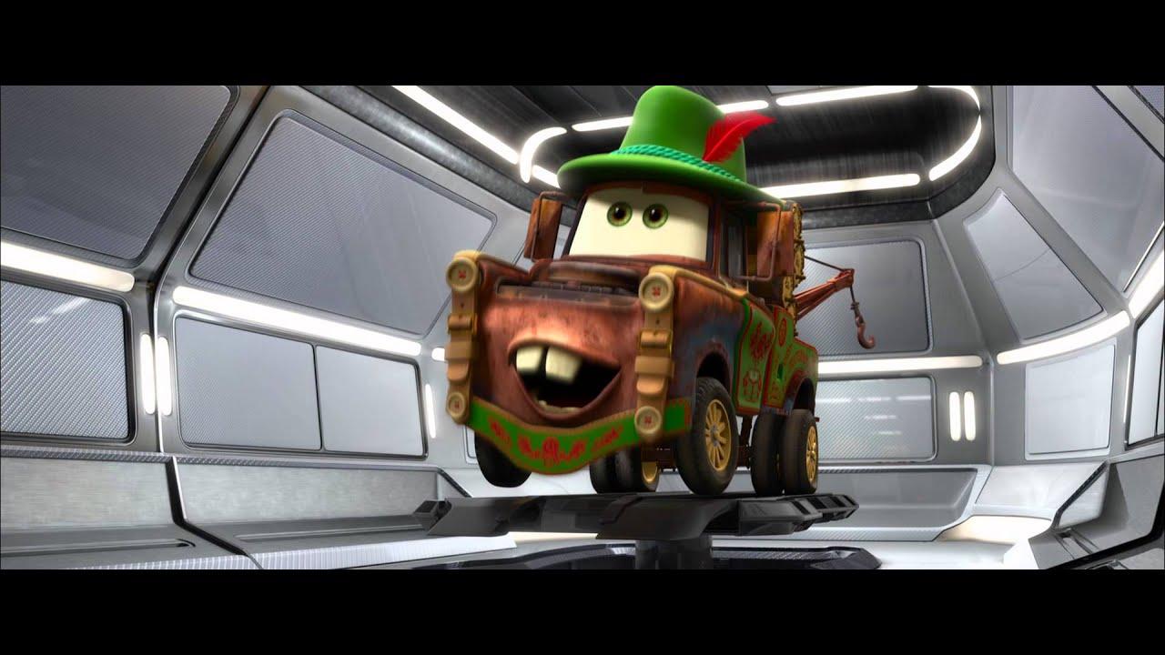 Disney pixar cars 2 i travestimenti di cricchetto clip for Disegni staccati di 2 box auto