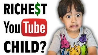 The Richest Child on Youtube: Ryan's Toys Reviews - Internet Hall of Fame - GFM (RyanToysReview)