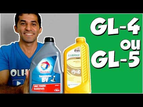 Óleo para câmbio manual GL4 ou GL5