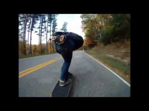 Rybioko Longboarding: Going Fast On A Sunday