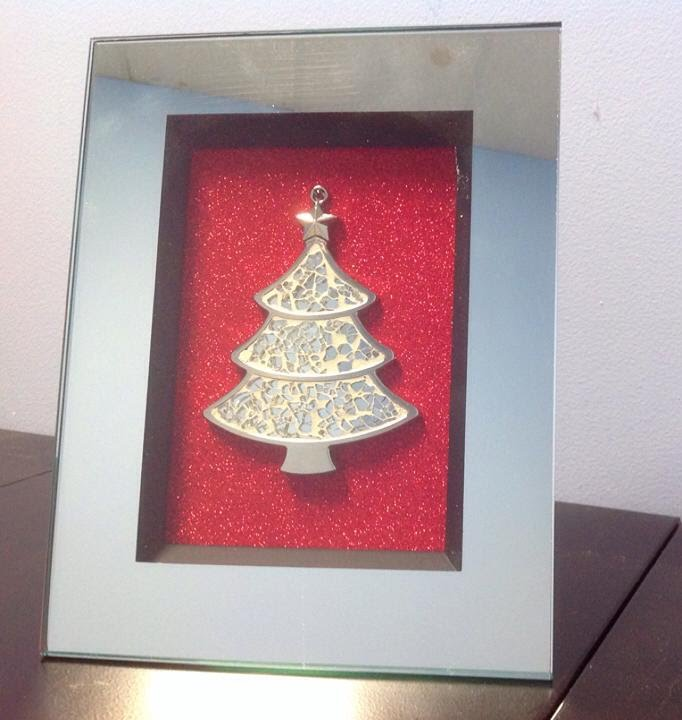 3d Origami Christmas Tree Today I Want To Share 3d: DIY Christmas Tree Picture Frame Ornament $5.00