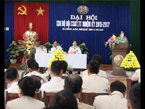 Đại hội chi bộ Đội Cảnh sát giao thông tuần tra nhiệm kỳ 2015 - 2017