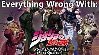 Everything Wrong With: JoJo's Bizarre Adventure: Stardust Crusaders | (First Quarter)