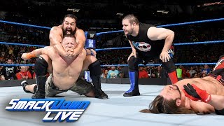 Rusev & Owens ruin Styles' U.S Champion Open Challenge against Cena: SmackDown LIVE, July 11, 2017