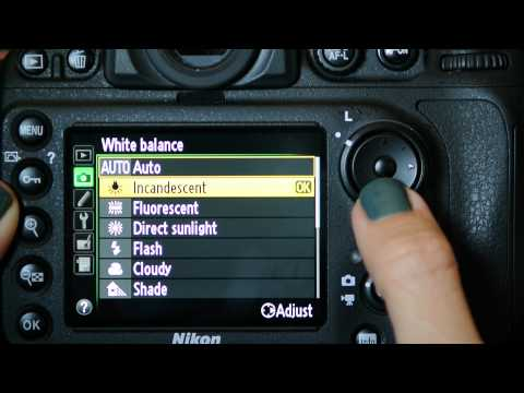Nikon D800 Shooting Menu