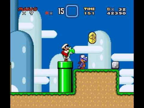 Super Mario World - How to break your game - User video