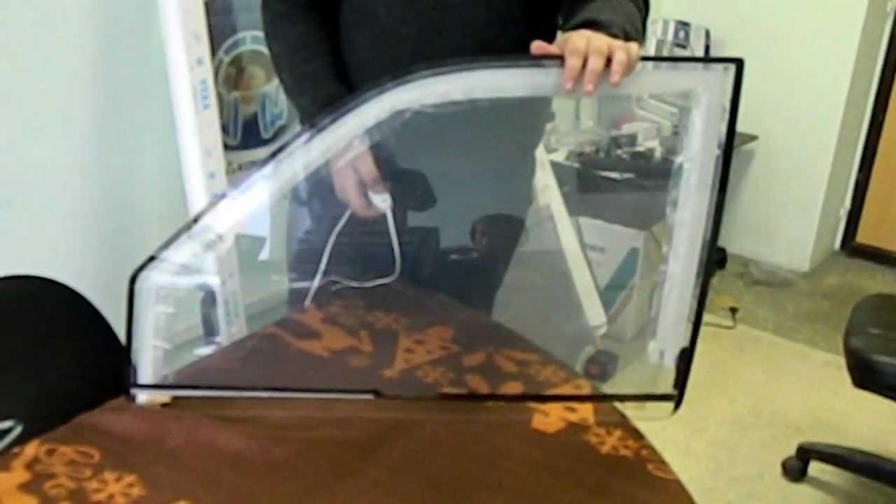 Электро тонировка стекол