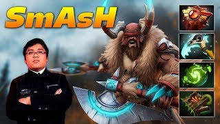 SmAsH Beastmaster Rexxar   Pro Offlane   Dota 2 Pro Gameplay