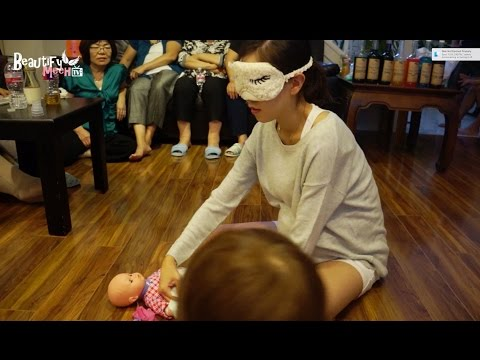 Changing Diaper Blindfolded!